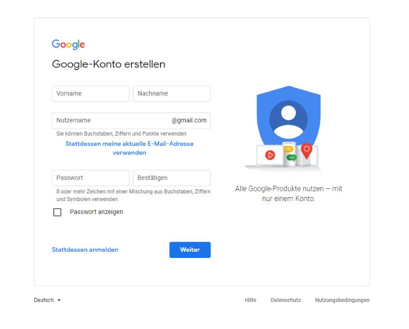 Lasst uns bei Alpha beginnen: Google Ads Konto erstellen
